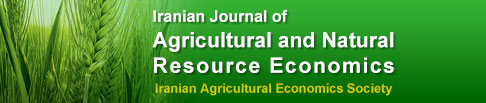 Iranian Journal of Agricultural and Resource Economics